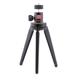 Wholesale Dsrl Camera - Kingjoy KT-100+BD-0 Mini Tripod Projector Bracket Metal Lightweight Portable Tripod Universal for DSRL Camera and Phones