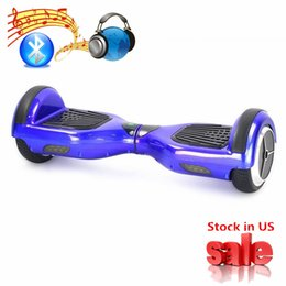 Wholesale Hot Men Stockings - Bluetooth hoverboard US STOCK 6.5 inch Wheel Scooter Hot Sale Hoverboards Electric Smart Electric Scooter Self Balancing Skateboard