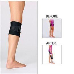 Wholesale Bracing Leg - Beactive Pressure Point Brace Back Pain Acupressure Sciatic Nerve Be Active Elbow Knee LEG Pads Black OPP Bag True Image Quality Top A056