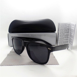 Wholesale Trend Sunglasses For Women - Fashion Men Sunglasses For Women Multicolor trend Vintage 54MM Sun glasses High Quality Shade Eyeglasses Textured Glasses With All Cases Box