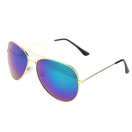 Wholesale A2 Fashion - Wholesale-2016 Fashion Style Hot 80s Vintage Womens Mens Mirror Lens Unisex Sunglasses 8 Color xmas a2