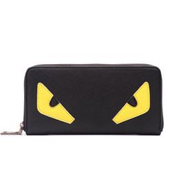 Wholesale Wholesale Small White Purses - Designer wallets famous brand women wallet 2017 small purse women little monster zip women's leather wallet carteras mujer