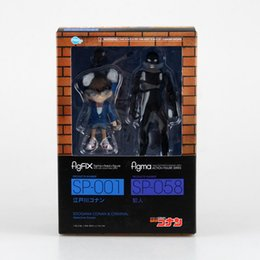 Wholesale Detective Conan Toy - Anime Detective Conan FigFIX SP-001 Figma SP-058 PVC Action Figure Collectible Model Toy 14cm With Box