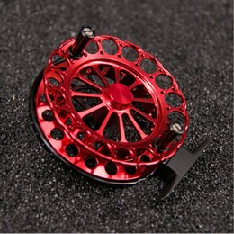 Wholesale Fishing Rafts - Fishing Reel 1:1 left or right hand 2 bearing Fly fishing All Aluminum Alloy Fish Wheel for Ice Raft CNC Fish reel 80g