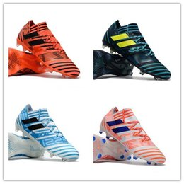 Wholesale Leather Dragon - New arrival Soccer Shoes ACE 17+ Purecontrol Dragon Mens Soccer Boot Nemeziz 17+ 360 Agility FG low Ankle Football Boots Soccer Cleats 39-45