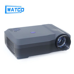 Wholesale led projektor full hd - Wholesale-4200lumens Home Theater 1080P LCD Video LED fuLL HD Projector projektor Proyector Projetor Beamer
