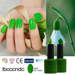 Wholesale Salon Gel Lamps Wholesale - Wholesale-IBCCCNDC UV Nail Gel Shining Polish Nail Varnish Glue Salon Nail Art Long Lasting LED Lamp Curing Base Top Coat 90516