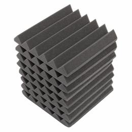 Canada Nouveau 30x30x5 cm Insonorisation Mousse Acoustique Mousse Sonore Traitement Studio Absorption Wedge Tiles Mousse De Polyuréthane Offre