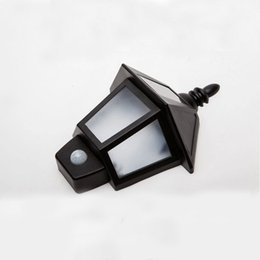 Wholesale Rv Solar Power - Wholesale- Exterior Lighting Outdoor Bright Night Lamp Motion Sensor Light Solar Power for Patio Deck Yard Road Lobby Stair Outside Wall RV