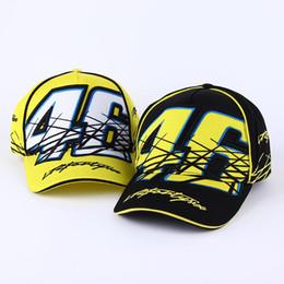 Wholesale Bone 46 - 2016 New Rossi VR 46 Caps Baseball Caps Snapback Bones Masculino Moto Gp Rossi Vr46 Motorcycle Men For Women Hats Casquette