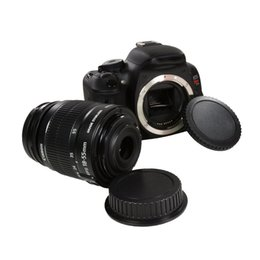 Wholesale Eos Body - Camera Lens cap Lens Lens Cap   Cover+Camera Body Cap for CANON EOS 1D 1DS Mark II III IV, 1DC, 1DX, 5D 6D 7D, 10D, 20D, 20DA