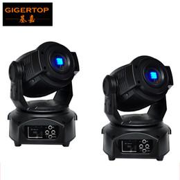 Wholesale Hot Usa - Hot Selling 2pcs lot 60W Led Moving Head Light 14CH DMX512 Led Moving Head Spot Light (USA Luminous)  FOCUS  3-Facet Gobo Light 90V-240V