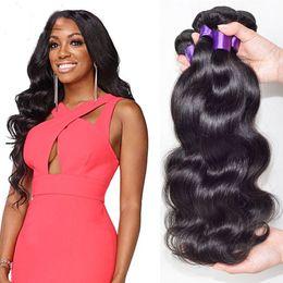 Wholesale Cheap Real Human Hair Weaves - 10A Cambodian body Wave Virgin Hair 3 Bundle Deals Cheap unprocessed Cambodian Virgin Hair body Wave Real Human Hair Bundle