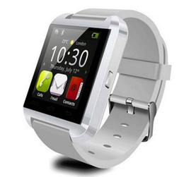Wholesale Smart Phone Android Windows - Free shipping 1.44inch Touch Screen U8 Watch Phone Bluetooth Smartwatch Phone Support Music Player Pedometer Barometer For Smart Phone