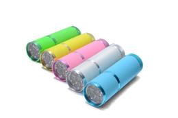 Wholesale Uv Hand Lamp - Wholesale- 1Pcs Acrylic Curing 6W Led UV Nail Lamp Environmental Material Nail Dryer Magic Use For Drying Hand Finger Nail Polish Tools
