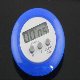 Wholesale Free Digital Timer - Mini Digital LCD Kitchen Cooking Countdown Timer Alarm with Stand For Kitchen Home New 10PCS Free Shipping