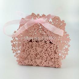 En gros 2000 pcs boîte de bonbons papillon creux laser boîte de cadeau de mariage boîtes de chocolat anniversaire faveur cadeau sac décoration de fête ? partir de fabricateur