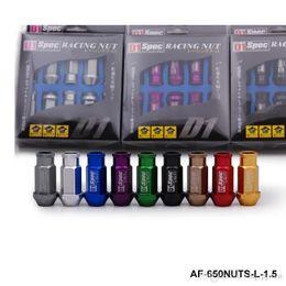 Wholesale Lug Nuts D1 Spec Red - Free shipping d1 Spec 20Pcs Racing Alumium Wheel Lug Nut 12X1.25 M12x1.5 (D1) L: 52mmuniversal fitment have stock ready to ship