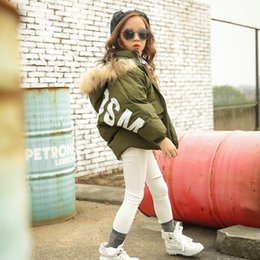 Wholesale Small Girls Down Coat - Small boy and girl children down jacket retail warm autumn and winter children s clothing down jacket wholesale 3 color 5 size