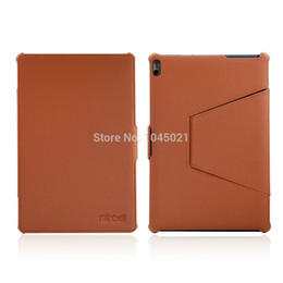2019 foglio di lenovo All'ingrosso- 2016 Custodia per laptop per Lenovo A7600 Custodia per tablet Folio PU Custodia in pelle per Lenovo Tab A10-70 A7600 10