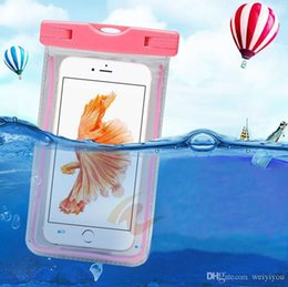 Wholesale Orange Armbands - Camouflage Waterproof Bag Water Proof Bag armband pouch Case Cover For Samsung Galaxy S7 edge iphone 6s plus all Cell Phone