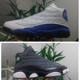 Wholesale Size 47 Ladies Shoes - Air New Retro 13 Sneaker Hyper Royal Mens Basketball shoes Black Anthracite Hyper Pink Youth Lady Girld 13s Trainer size 36-47