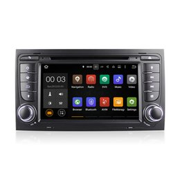 Wholesale Dvd Player Audi A4 - Android 5.1 Car DVD Radio Player Multimedia System RK3188 With Wifi DAB CanBus for Audi A4 (2002-2007) SEAT EXEO (2009-2012) S4 RS4