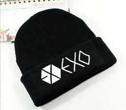 Wholesale Mix Match Beanies - 2016 Newest Beanies Pom Knit Hats Sports Cap black beanies EXO brand skull caps Mix Match Order All City Caps in stock Top Quality Hat