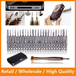 Wholesale Tool Kits For Cellphones - New 25 in 1 Precision Torx Screwdriver Set Opening Repair Tools Kit for iPhone PC Cellphone Camera Watch Electronics
