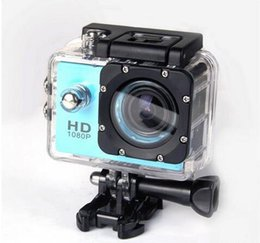 Wholesale Sports Action Camcorders - SJ4000 style A7 2 Inch LCD Screen 1080P Helmet Sports DV Video Car Cam DV Action Waterproof Underwater 30M Camera Camcorder
