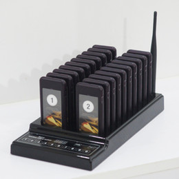 Wholesale Hospital System - Queue wireless paging system, coaster pager for hospital, bank, resteraunt
