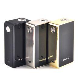 2019 e max elektronische zigarette SnowWolf 200W Plus TC Box Mod Max Leistung 235 Watt E Zigarette Vaper Mods Elektronische Zigarette Vape Mod Kit Kostenloser Versand günstig e max elektronische zigarette