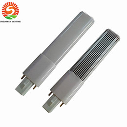 light grey rooms Coupons - New Arrival G23 GX23 4W 6W 8W Led PL Lights Energy Saving smd 2835 Led Bulbs Corn Light AC 85-265V ce rohs ul