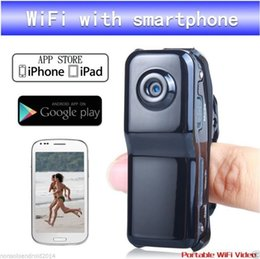 Wholesale micro wireless hidden camera - Wholesale-Wireless Micro Camera WiFi Hidden Webcam Tiny Spycam Gizli Pinhole Thumb Mini Secret HD Kamera Action Versteckte Sem Fio Cam