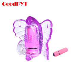 Wholesale Jellies Sex Toys - Wearable Clitoral Vibrator Sex Toys For Woman Butterfly Massager Stimulator Female Masturbate Adult Erotic Products