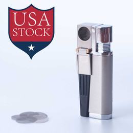 Wholesale Wholesale Stock Usa - Stock in USA! Cosmic Click N Vape Sneak A Vape Herbal Vaporizer smoking pipe Torch Flame lighter With Built-in Wind Proof SA0016