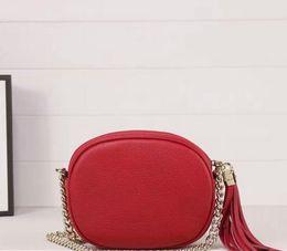 Wholesale Black Canvas Crossbody - Mirror quality Genuine calfskin leather G2 Soho Disco Camera Bag Leather Crossbody Bag 353965 size 17*13*3cm