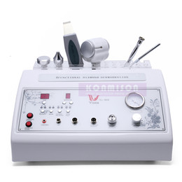 Wholesale Microdermabrasion Machines For Sale - 4 In 1 Skin Rejuvenation Diamond Microdermabrasion Machine For Sale With Ultrasound Hot&Cold Hammer&Skin Scrubber Dermabrasion