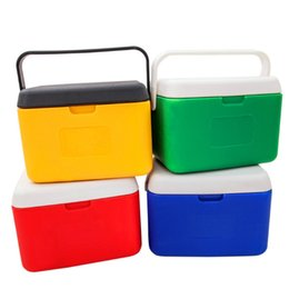 Wholesale Green Ice Bags - Fashion Portable Coolers Bag ice pack cold pack Insulated 5L lunch Bag Thermal Food Picnic Lunch Bags Travel Case Cooler Box ice bag