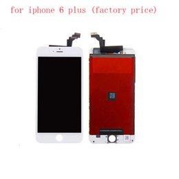 Wholesale Packing Box For Iphone - For iPhone 6 plus LCD Front LCD Assembly Touch Screen Digitizer Replacement Part Grade AAA Quality with box packing
