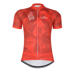 Wholesale Dubai Women Clothing - 2017 Dubai Pro team men's Cycling Jersey Cycling clothing Mountain Bike Clothes Quick Dry Short sleeve shirt Bicycle Sports wear C0233