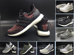 Wholesale 36 D - New Ultra Boost 3.0 Triple Black and White Primeknit Oreo CNY green Men Women Running Shoes Ultra Boosts ultraboost sport Sneaker 36-47