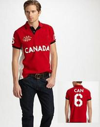 Wholesale Sail T Shirt - Top Selling Men Race Casual Shirt Brand Designer Country Sailing Sport Shirts Regular Fit Cotton Leisure T-Shirt S-XXL