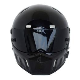 """Wholesale Full Face Motorcycle Helmet Dot - 1996 Motorcycle Helmet for """"Simpson STYLE"""" Street Pig Bandit For Karting ATV-1 Carbon Drag Full Face Helmet DOT S-XXL"""
