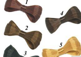 Wholesale Elegant Hair Bows - New Fashion High Quality Moda Handmade Solid Hair Bow For Women Girls Elegant Sweet Hairgrips Hair Accessories