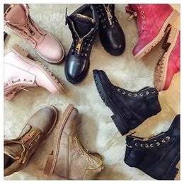Wholesale Cowgirl Winter Boots - Wholesale-Free Shipping Hot Sell Plus Size 2016 Leather Women Handmade Ranger Boots Motorcycle Fashion Work Shoes Spikes CowGirl Boots