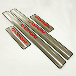 Wholesale Nissan Stainless Steel - For Nissan Qashqai j11 Door Sill Scuff Plate Welcome Pedal Stainless Steel Car Styling Accessories 2015 2016
