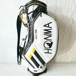 Wholesale Club Equipment - 2017 New Golf bags HONMA Golf cart bags high quality PU Clubs bag colors in choice Golf equipment Free shipping