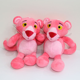 Wholesale Doll 19 - Cute Pink Panther plush dolls plush toys pink toys kids gifts 19 cm lovely Pendant 10 p l