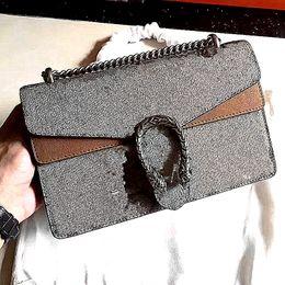 Wholesale Burgundy Cross Body Bag - classic hot fashion female lady woman G design letter chain luxury crossbody handbag genuine leather flap shoulder bag 400249 size 28cm